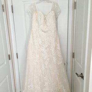 16W Ivory Wedding Gown